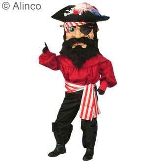Pirate Mascot Costume 135