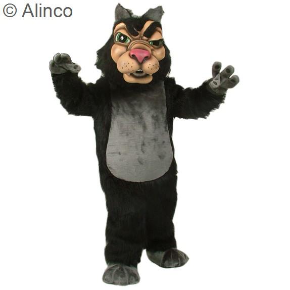 New Wolf Mascot Costume 141