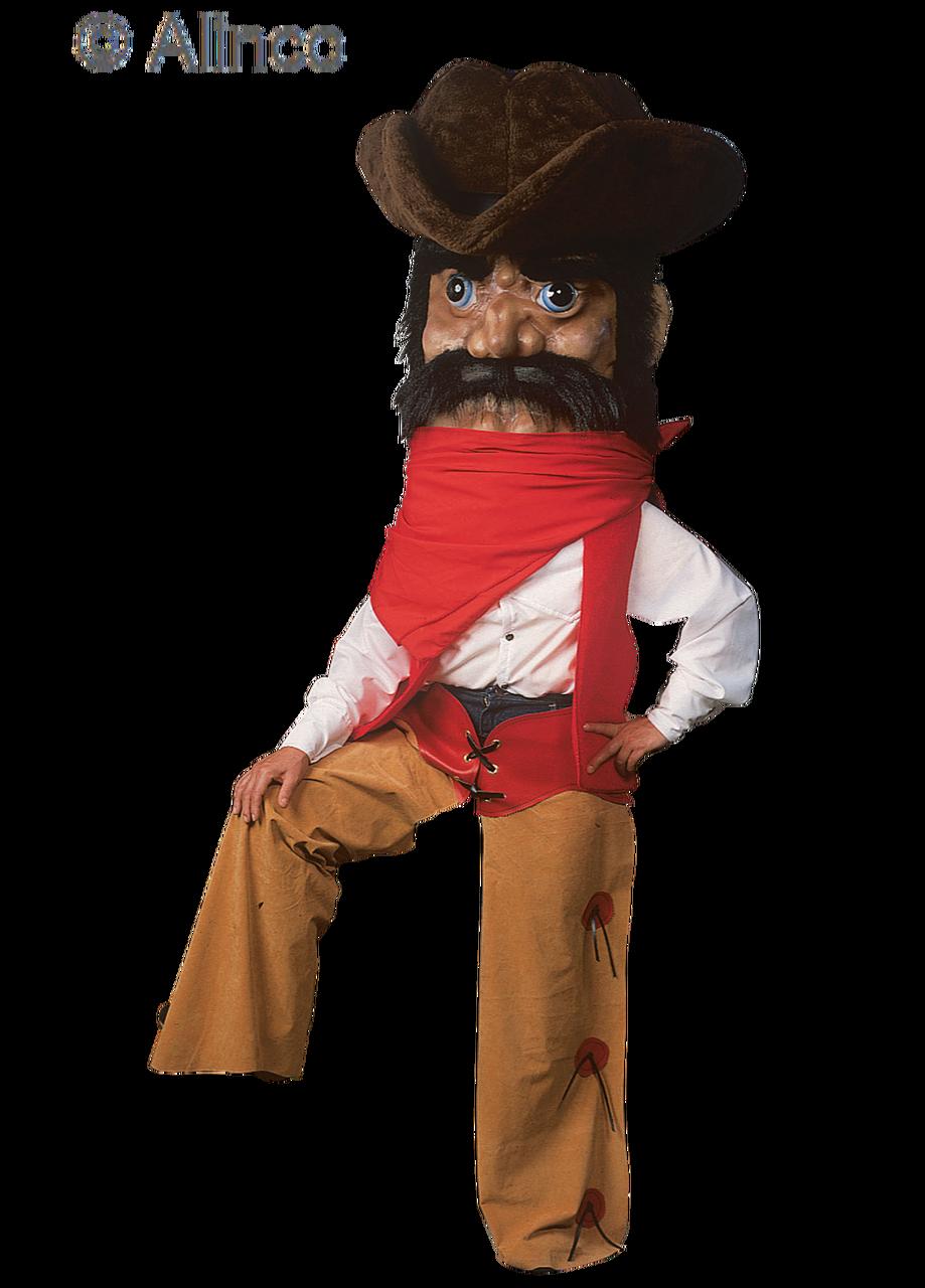 Cowboy Mascot Costume 149