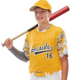 Augusta Pop Fly Baseball Jersey 1548