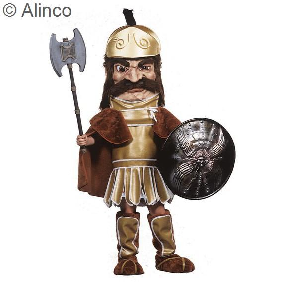 Trojan Warrior Mascot Costume 184