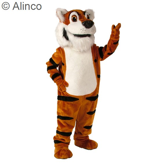 Toby Tiger Mascot Costume 187