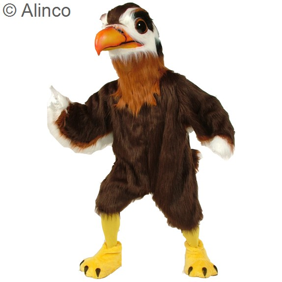 Regal Hawk Mascot Costume 197