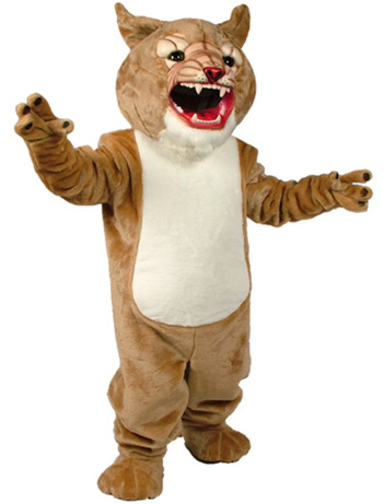 Super Cougar Mascot Costume 199