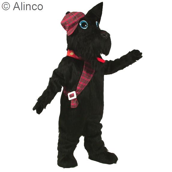Scotty Dog Mascot Costume 226