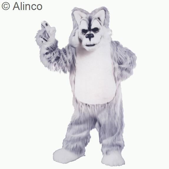 Deluxe Husky Mascot Costume 251