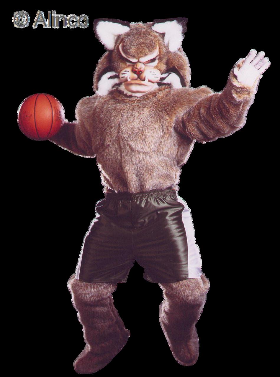 Pro Bobcat Mascot Costume 321