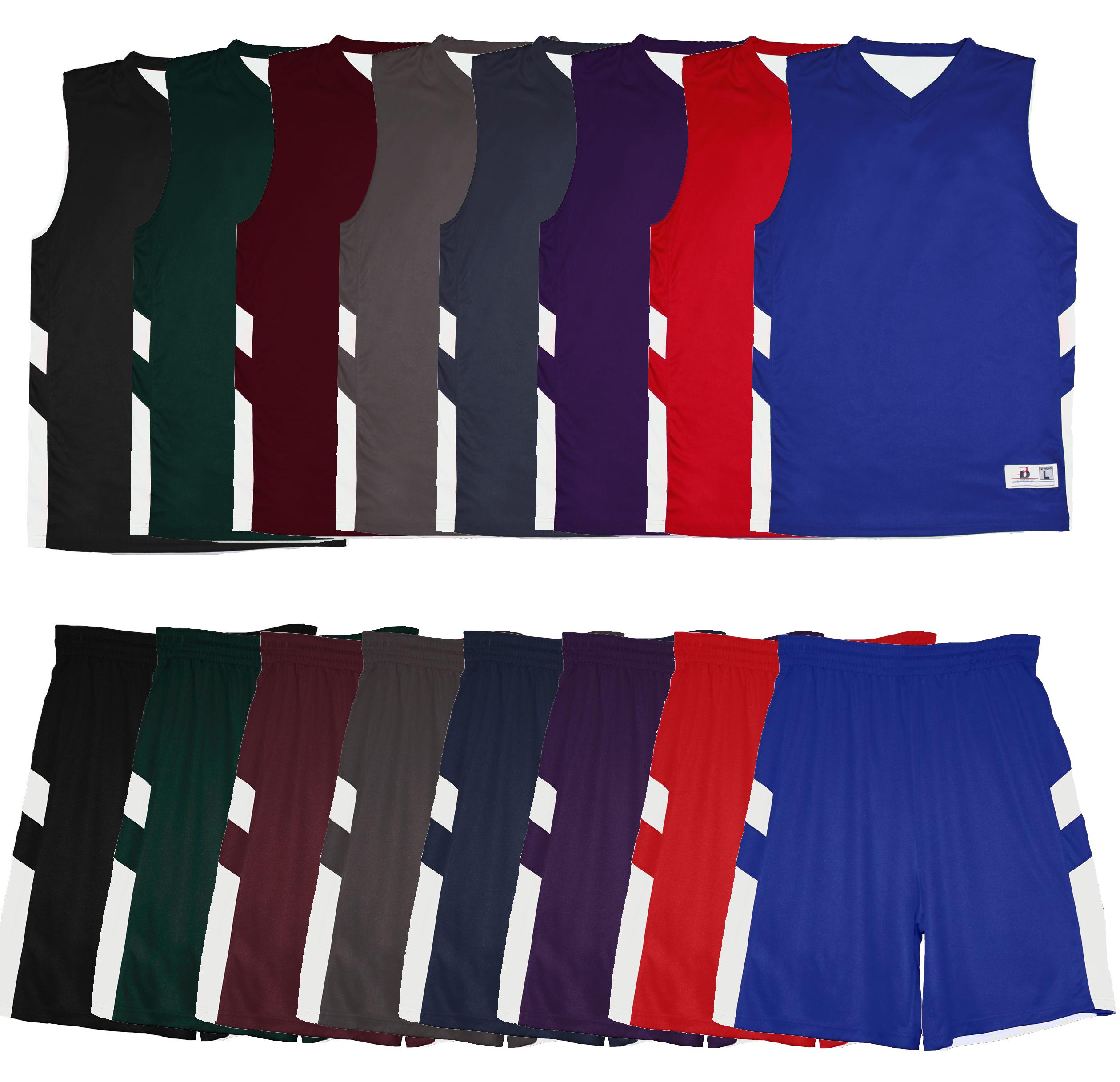 Alleson Mens B-Pivot Reversible Basketball Uniform Set 8566