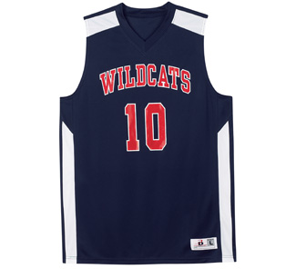 Badger Womens B-Key Basketball Jersey 8948