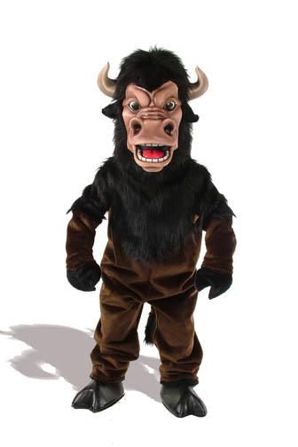 Buffalo Mascot Costume 515