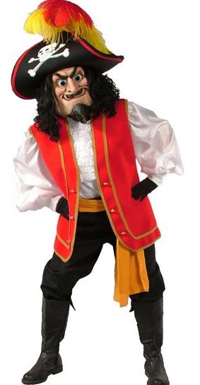 Captain Scratch Mascot Costume 483