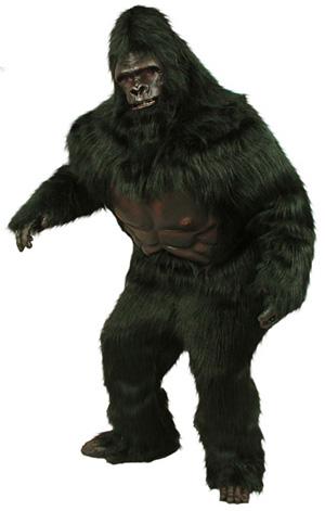 Super Deluxe Gorilla Mascot Costume #498