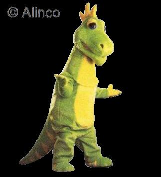 Dizzy Mascot Costume 166
