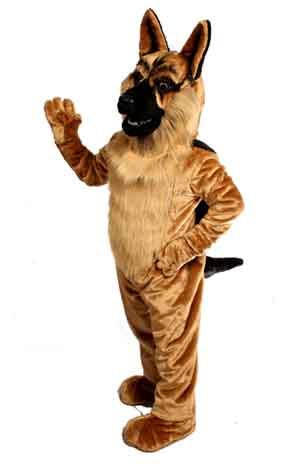 German Shepard Mascot Costume 643
