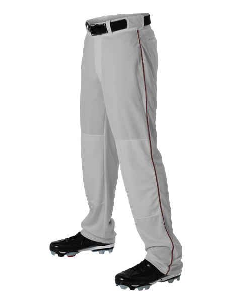 Alleson 12oz Baseball Pant with Braid 605WLB