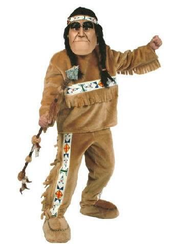 Indian Mascot Costume 604