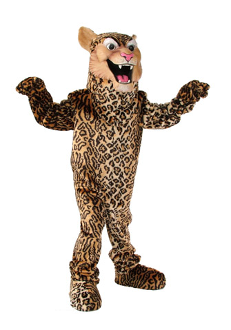 Leopard-Cheetah-Jaguar Mascot Costume 508