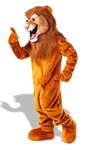 Lancelot Lion Mascot Costume 505