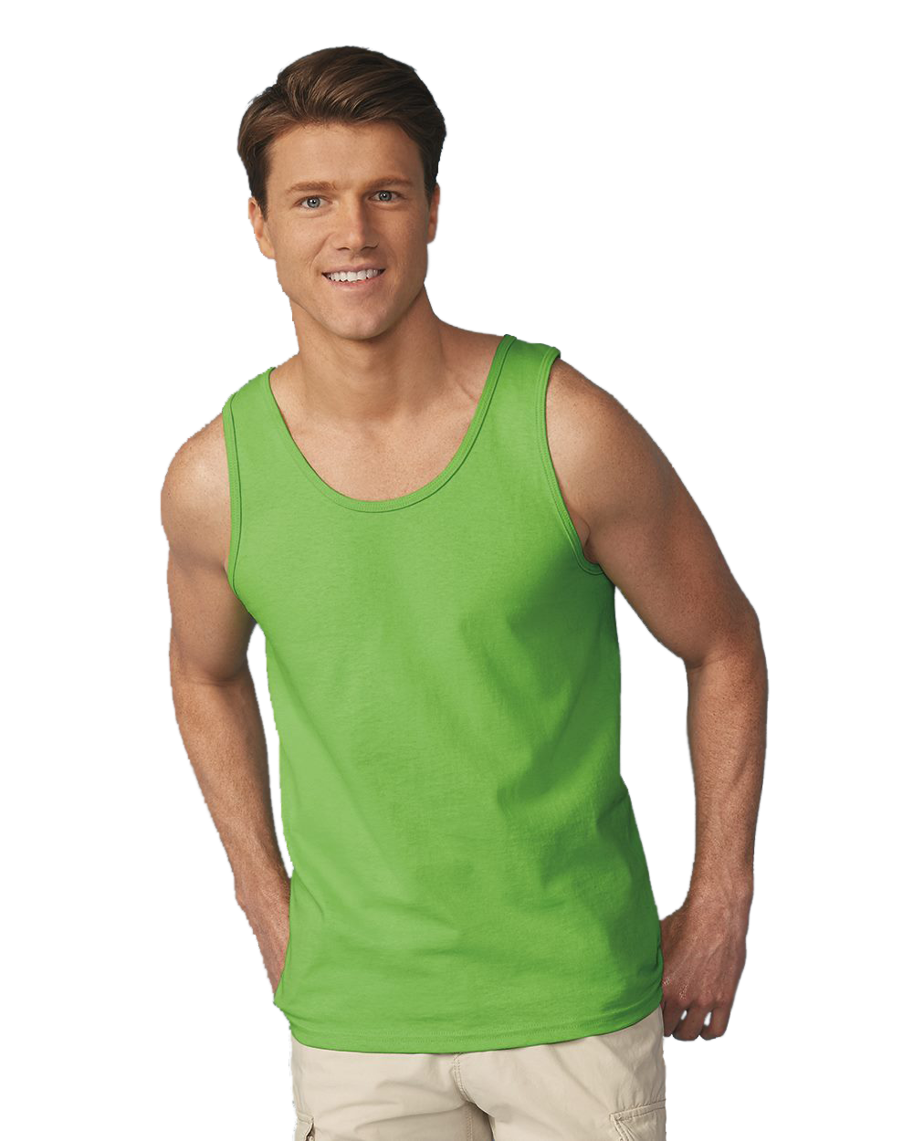 Ultra Cotton Mens Tank