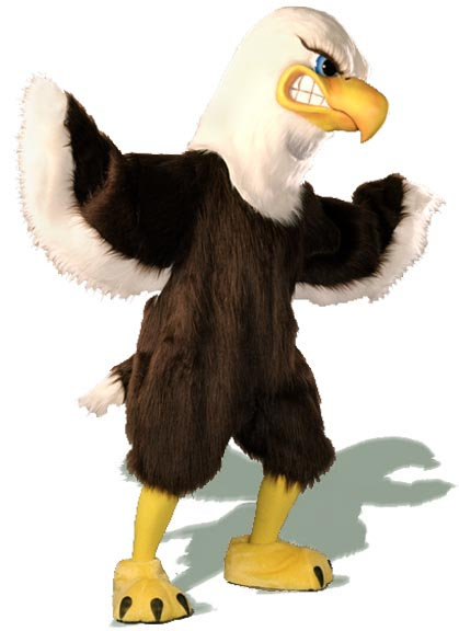 Majestic Eagle Mascot Costume 410