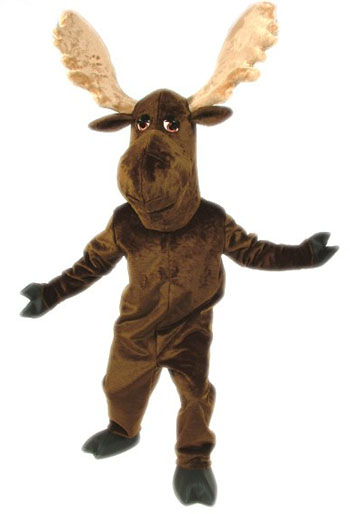 Moose Mascot Costume 102