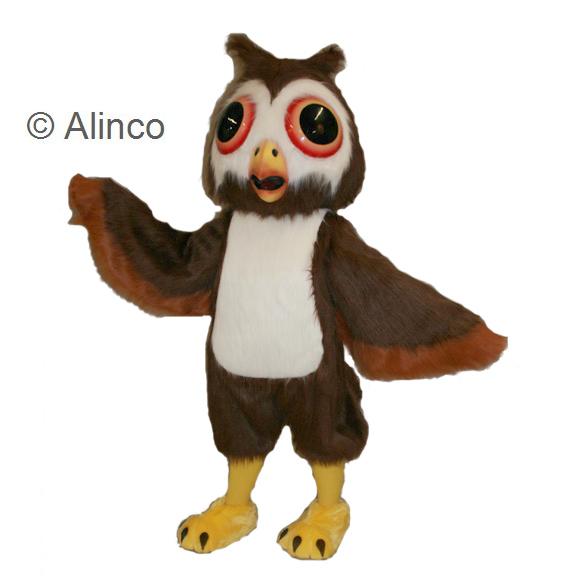 Oliver Owl Mascot Costume 68