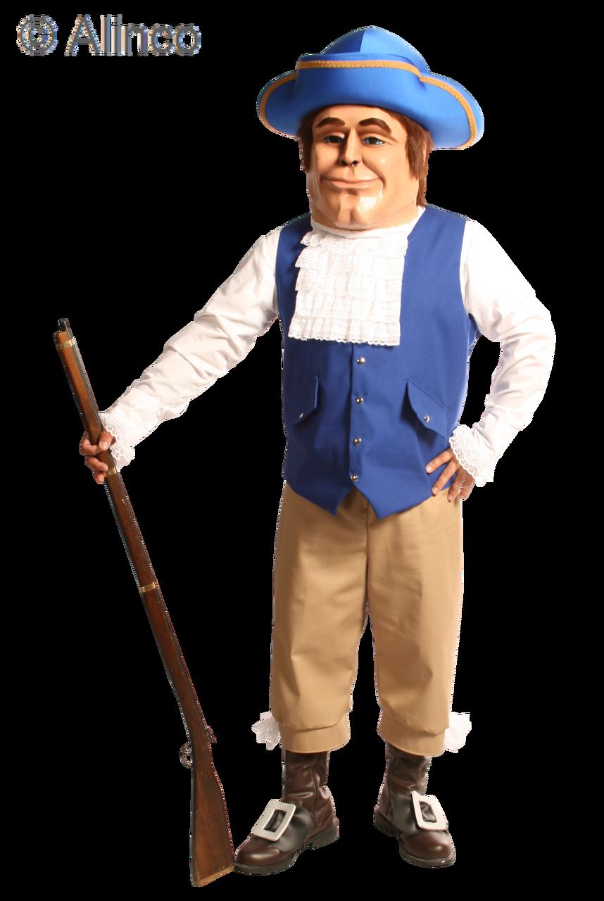 Patriot Mascot Costume 143