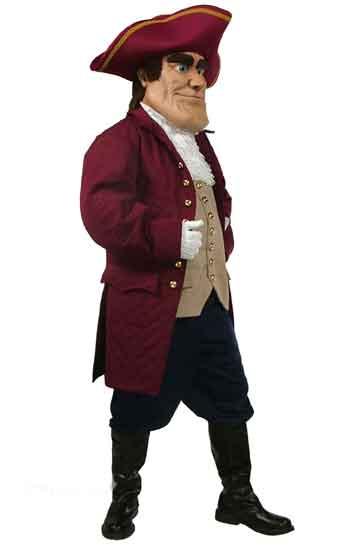 Patriot Mascot Costume 607