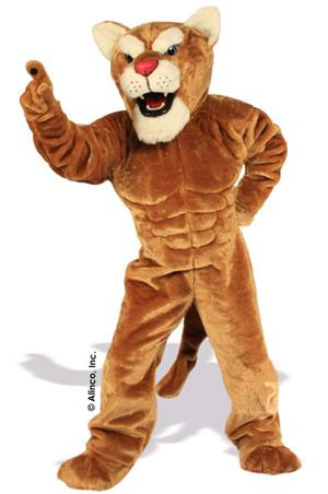 Power Cougar Mascot Costume 635