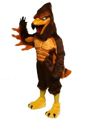 Power Hawk/Falcon Mascot Costume  637