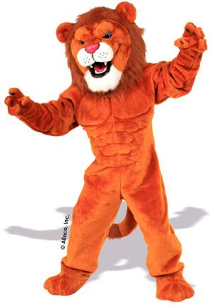 Power Lion Mascot Costume 634