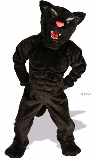 Power Cat Panther Mascot Costume 633