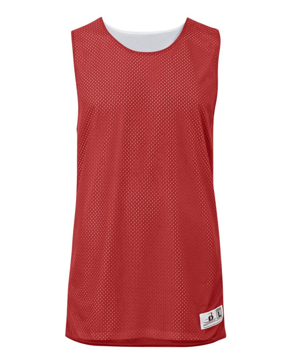 Badger Mens Challenger Reversible Basketball Jersey 8559