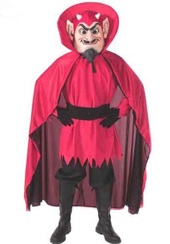 Red Devil Mascot Costume 518