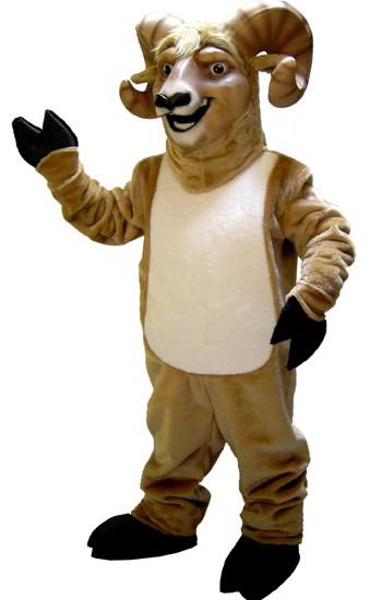 Rocky Ram Mascot Costume 520