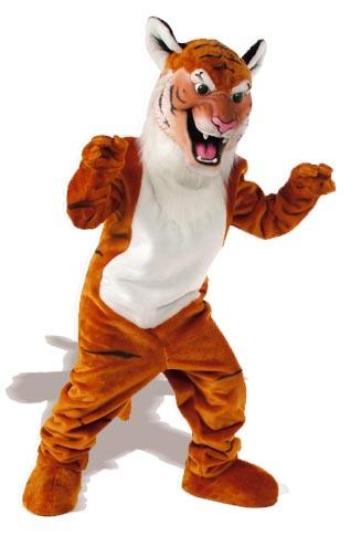 Tiger Mascot Costume 506