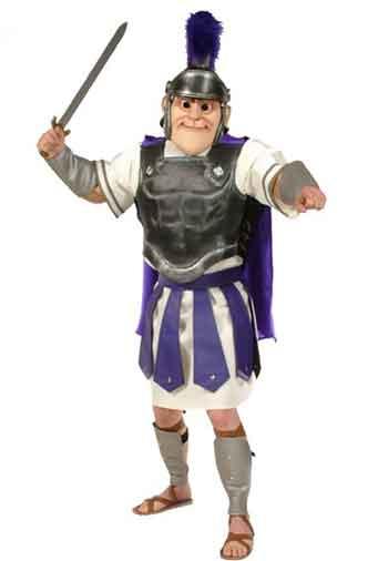 Troy Trojan Mascot Costume 484
