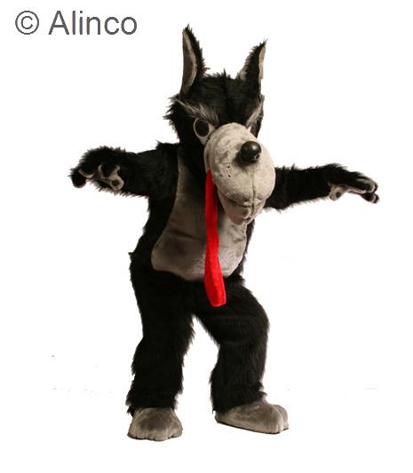 Wolf Mascot Costume 18