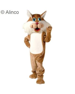 Wirey Wildcat Mascot Costume 54
