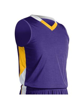 Purple/Gold/White
