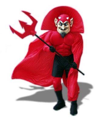 Mr Scratch Mascot Costume 430
