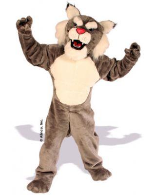 Power Cat Wildcat Mascot Costume 632