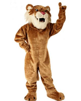 Saber Tooth Mascot Costume 620